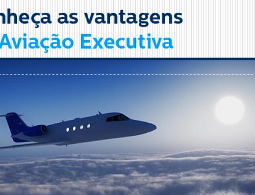 Conheça as vantagens da aviação executiva