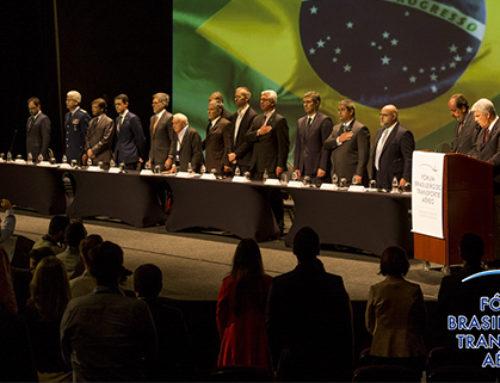 Tópicos abordados no Fórum de Transporte Aéreo Brasileiro