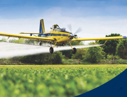 Saiba mais sobre o aumento das aeronaves agrícolas no último ano.