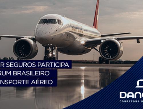 Dancor Seguros participa do Fórum Brasileiro de Transporte Aéreo