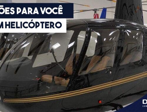 5 Razões Para Você Ter Um Helicóptero